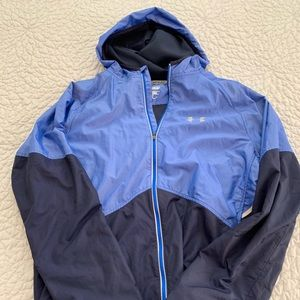 Under Armour running jacket with hood